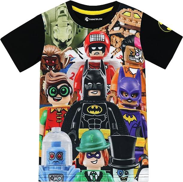 Amazon.com: LEGO Batman Batman - Camiseta para niño: Clothing