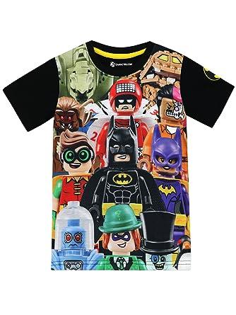 f8bd0c545fe LEGO Batman Boys Batman T-Shirt Ages 4 to 13 Years  Amazon.co.uk  Clothing