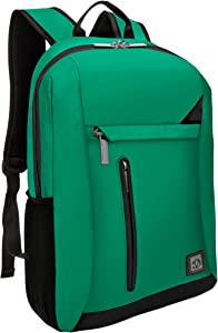 Green Anti-Theft Laptop Backpack for Dell Latitude Inspiron Precision XPS ChromeBook Vostro G3 G5 G7 Up to 15.6 inch