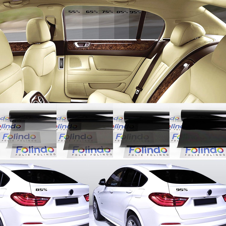 Solar Screen Profi Auto Tö nungsfolie Schwarz 85% Scheibenfolie 76cm Breite Black Plus 85c Scheibentö nungs-Folie Ink ABG