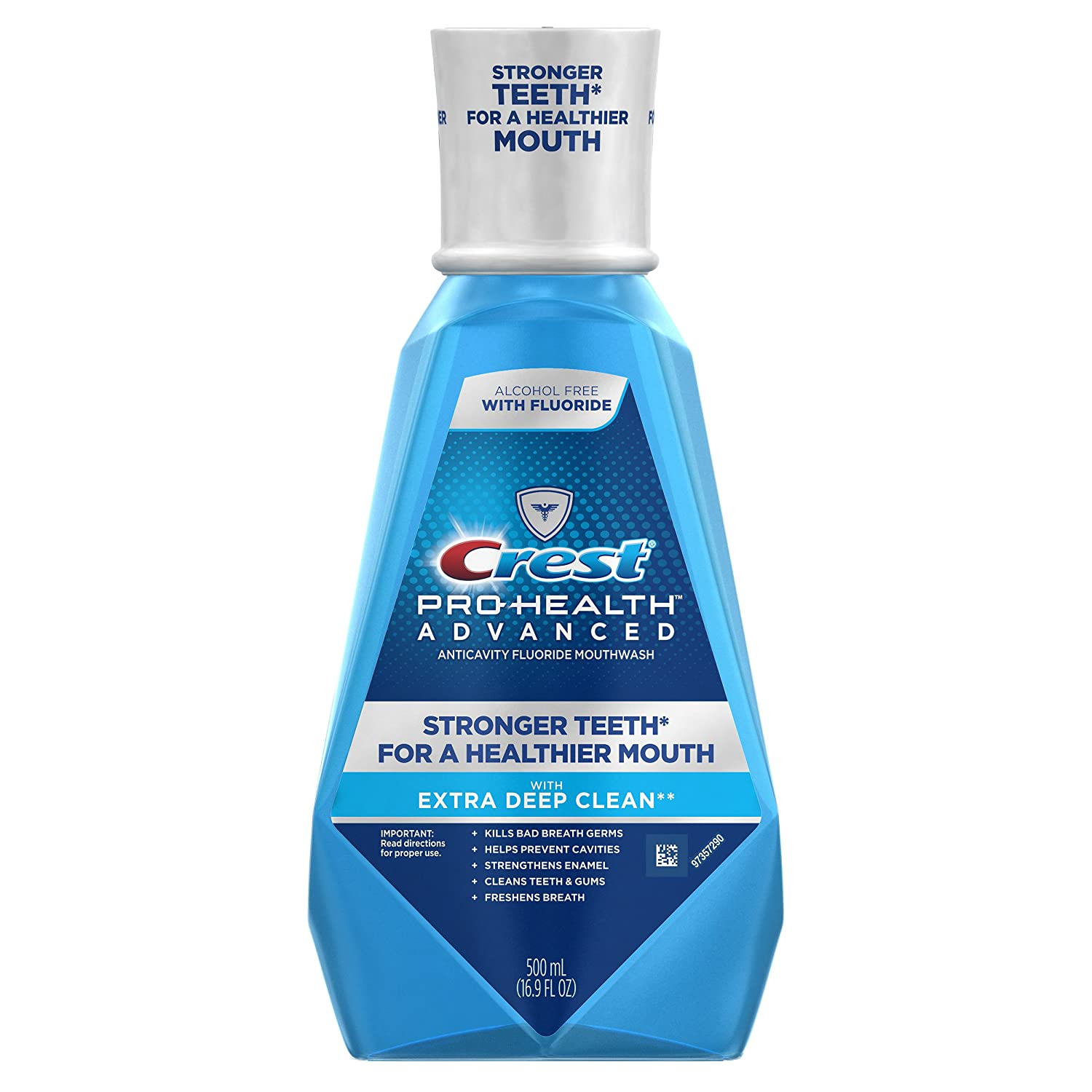 Crest Pro-Health Advanced Mouthwash with Extra Deep Clean, Fresh Mint,16.9 Fluid Ounce