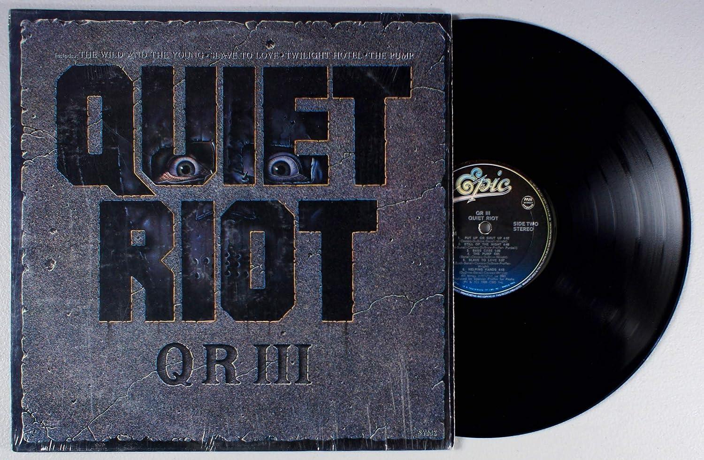QR III: Quiet Riot, Quiet Riot: Amazon.es: Música