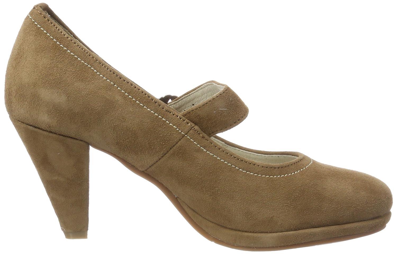 3005717, Zapatos de Tacón con Punta Cerrada para Mujer, Marrón (Sand 005), 36 EU Hirschkogel