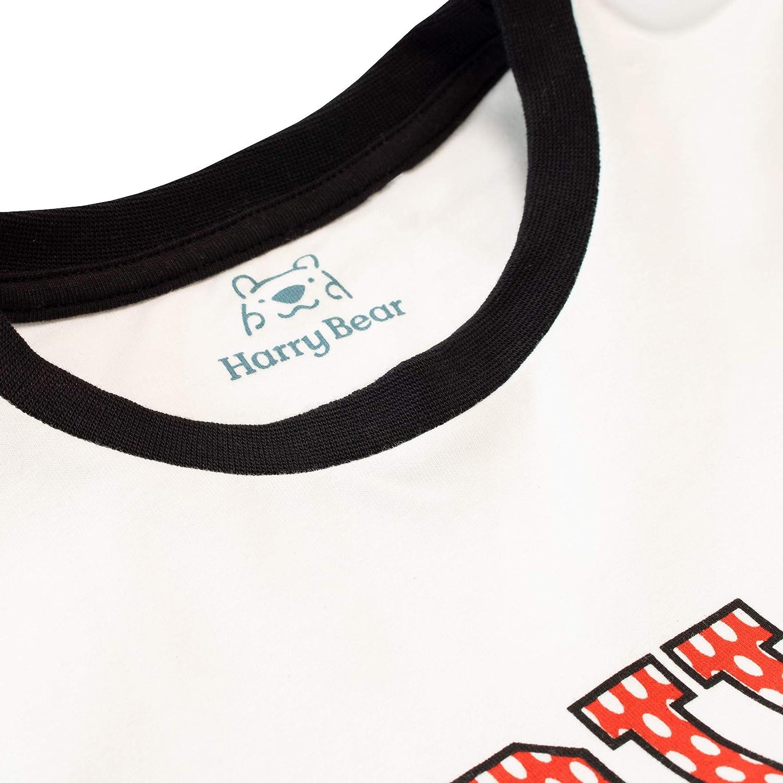 Harry Bear Pijamas de Manga Larga para niños Fútbol Ajuste Ceñido: Amazon.es: Ropa y accesorios