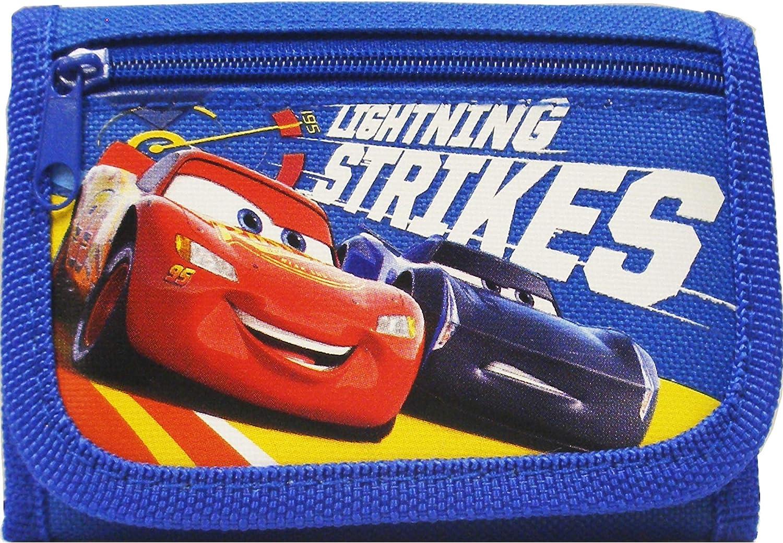 Disney Car Lightning Strikes Authentic Licensed Children Trifold Wallet