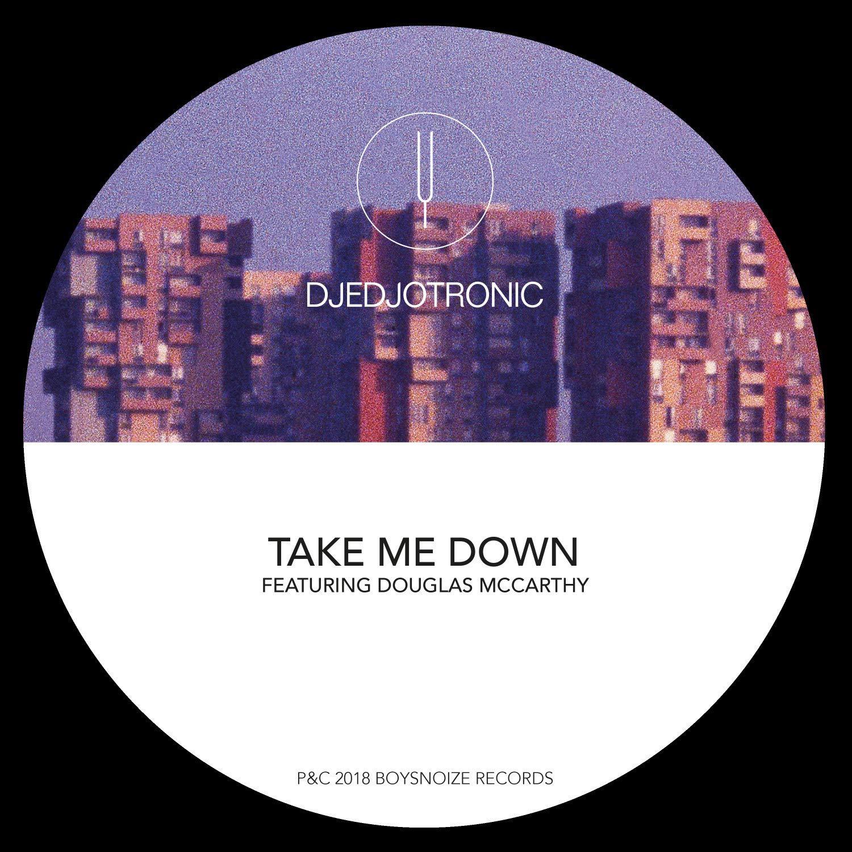 Vinilo : Djedjotronic - Take Me Down (12 Inch Single)