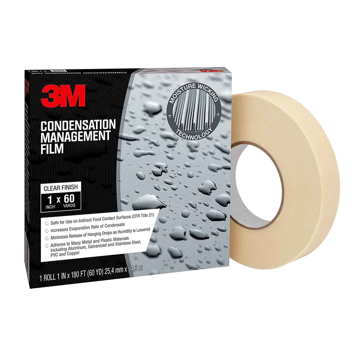 Image of 3M 94505 Condensation Management Film Cmfi, Polyethylene, Clear Home Improvements
