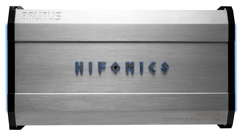Hifonics Brx11001d Brutus Vehicle Mono Subwoofer Wiring Diagram Amplifier Car Electronics