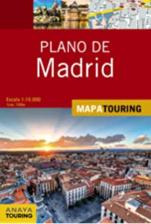 Plano de Madrid (Mapa Touring)