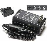 ソニー SONY NP-FV70,100/FH70,100対応充電器 ◆TRAVEL チャージャー 家庭&車両用