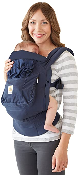 22f0ac7f30b Amazon.com   Ergobaby Organic Bundle of Joy Baby Carrier Navy   Baby