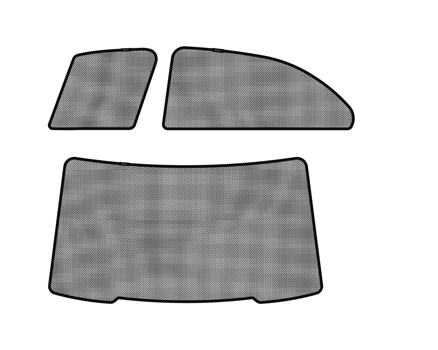3D MAXpider S1MB0570 Soltect Complete Set Custom Fit Sun Shade (for Select Mercedes-Benz E-Class Models)