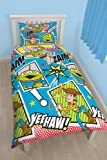 "Character World 91 cm Single Disney ""Toy Story Yeehaw"" Rotary Duvet Set, Multi-Colour"