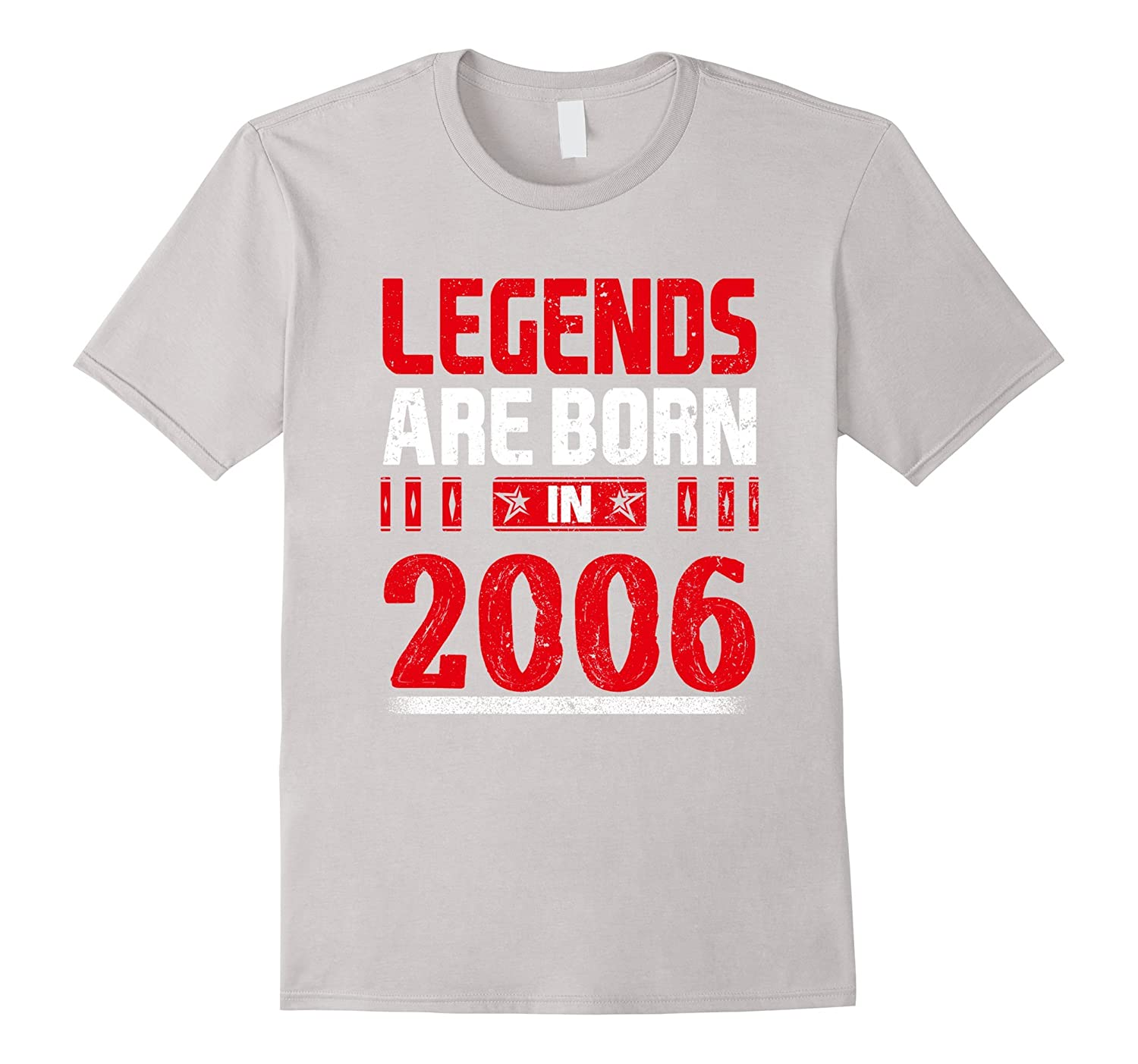 11th Birthday Gift Legends Are Born In 2006 T-Shirt-TH