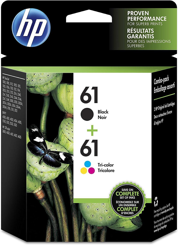 HP 61 Black Ink Cartridge  2 Ink Cartridges for HP Deskjet