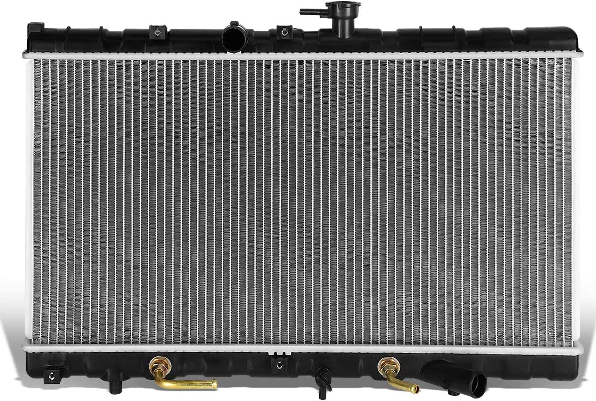 DNA Motoring OEM-RA-2392 2392 OE Style Aluminum Cooling Radiator Replacement