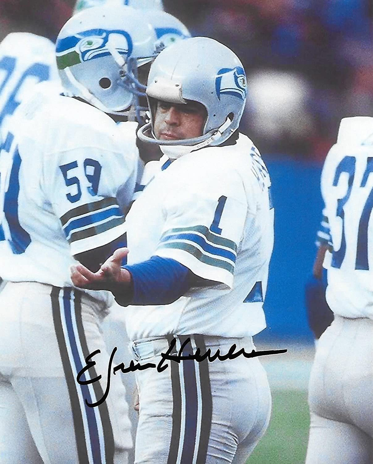 Efren Herrera, Seattle Seahawks, Signed, Autographed, 8X10, Photo, a ...