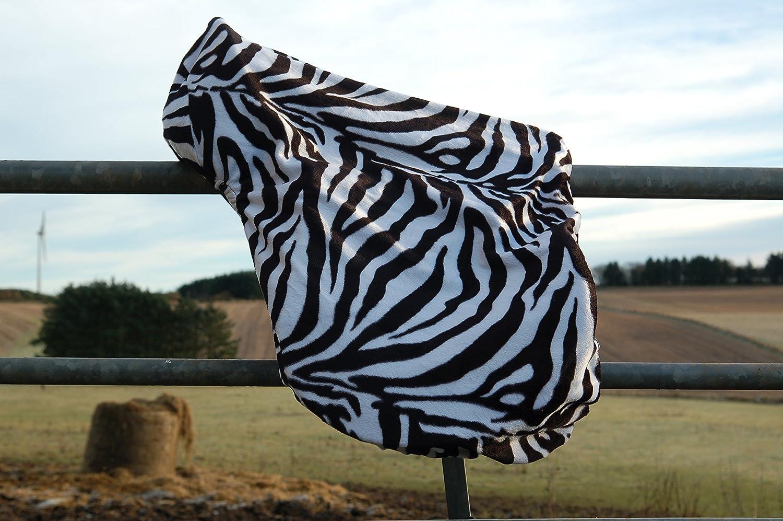 IV Horse Animal Print Fleece Saddle Cover