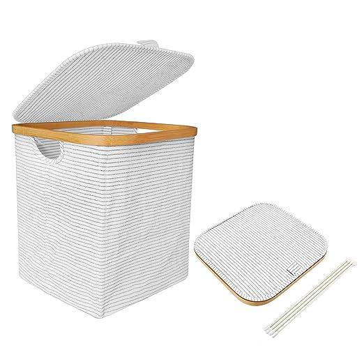 Waschesammler Waschekorb Waschetonne Wasche Korb Badezimmer 2 Fach