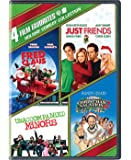 4 Film Favorites: Holiday Comedy (Fred Claus, Just Friends, National Lampoon's Christmas Vacation 2…, Unaccompanied…