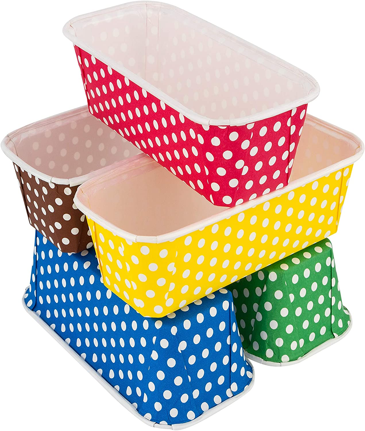 Paper Loaf Pans For Baking 25 Loaf Pan Liners 7x3x2 Mini