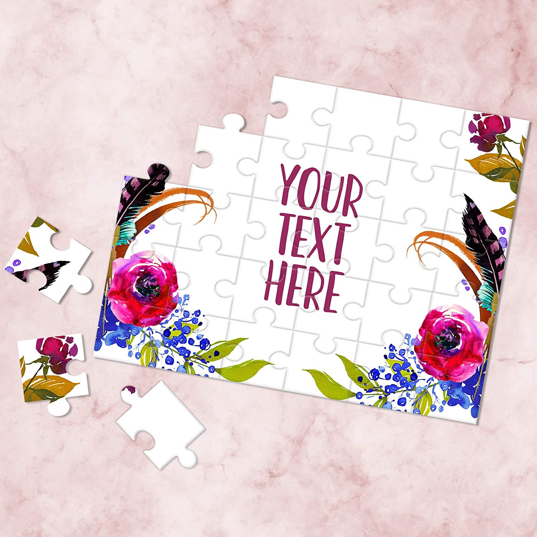 Announcement Ideas Personalized Puzzle Create Your Own Puzzle Custom Puzzle CYOP0112 Wedding Announcement Pregnancy Announcement