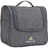 トイレタリーバッグ Hikenture® 三層構造 トラベル ポーチ 防水機能アップ バスルームポーチ 大容量 旅行・出張用 全四色