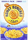 Post Honey Bunches of Oats with Almonds Cereal, 2 - 24oz Bags per Box