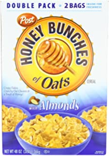 Amazon.com: Honey Bunches of Oats with Almonds, 14.5-Ounce Boxes ...