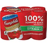 Campbell's Tomato Juice, 5.5 Ounce (Pack of 6) (Packaging May Vary)