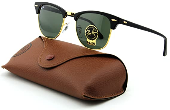 f68f6ff3c3d787 ... coupon code for ray ban rb3016 clubmaster arista frame crystal green  lens w0365 49mm a1ac3 ed736