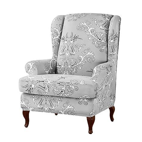 subrtex - Juego de 2 Fundas para sillón con Orejas, diseño ...