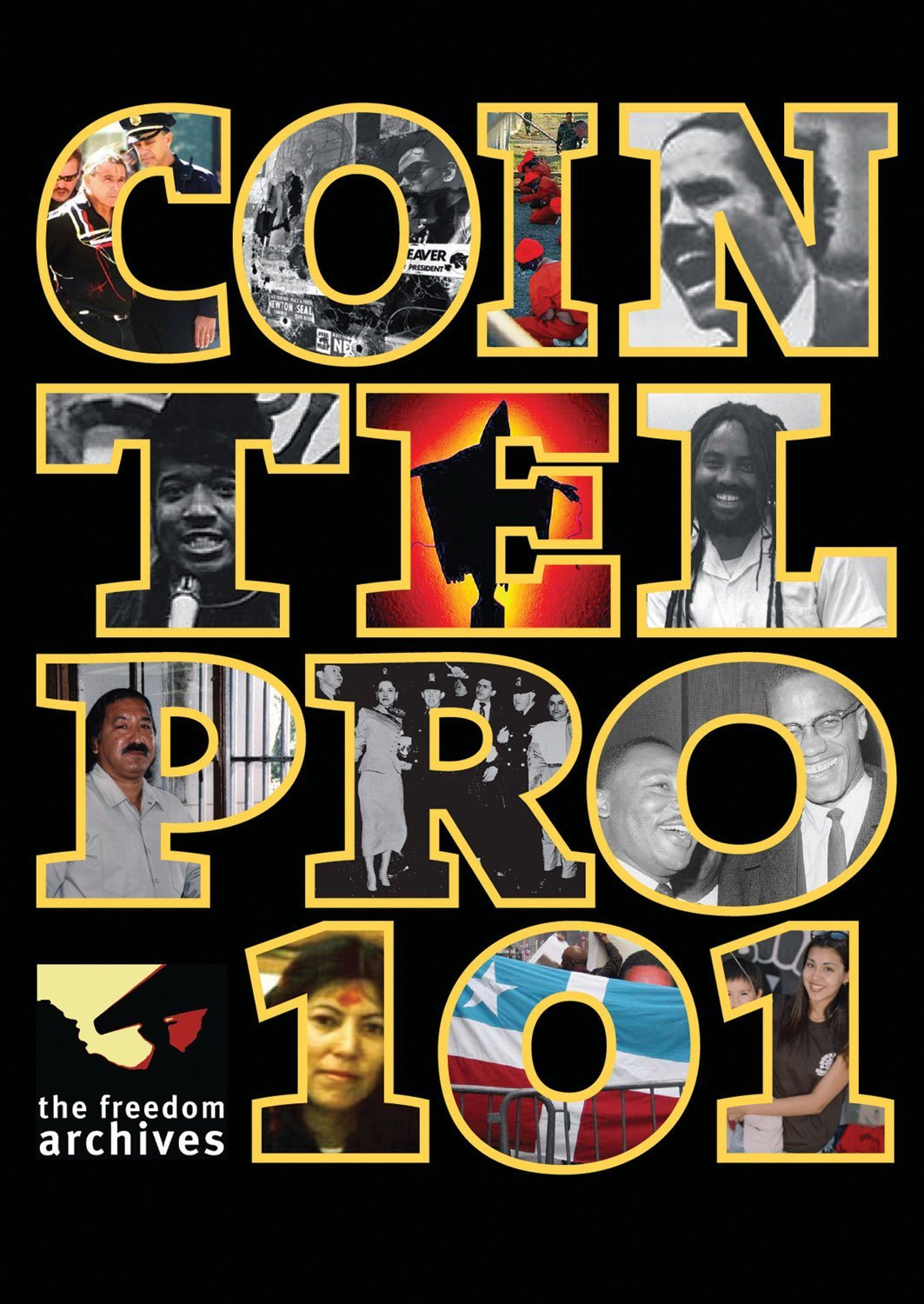 DVD : Freedom Archives: Cointelpro 101