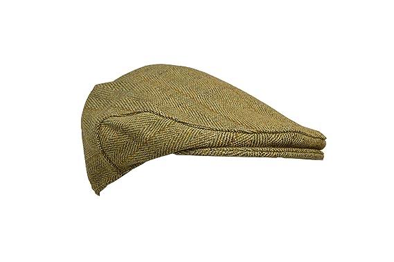 308df7252b7 Walker   Hawkes - Uni-Sex Derby Tweed Flat Cap Hunting Shooting Countrywear  Hat -