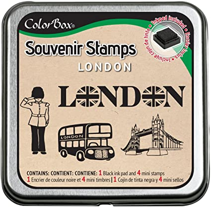 CLEARSNAP ColorBox Souvenir Stamps, London