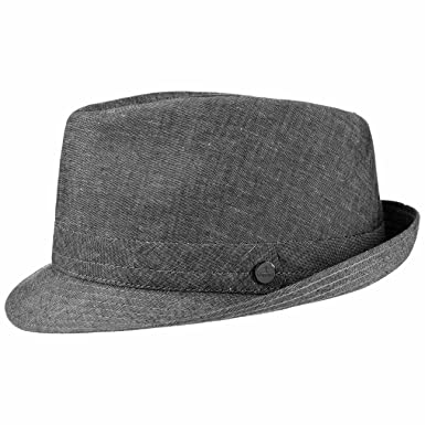 64e4c33cc3ba0 Lierys Misto Lino Linen Trilby Hat by Women/Men | Made in Italy Cotton with
