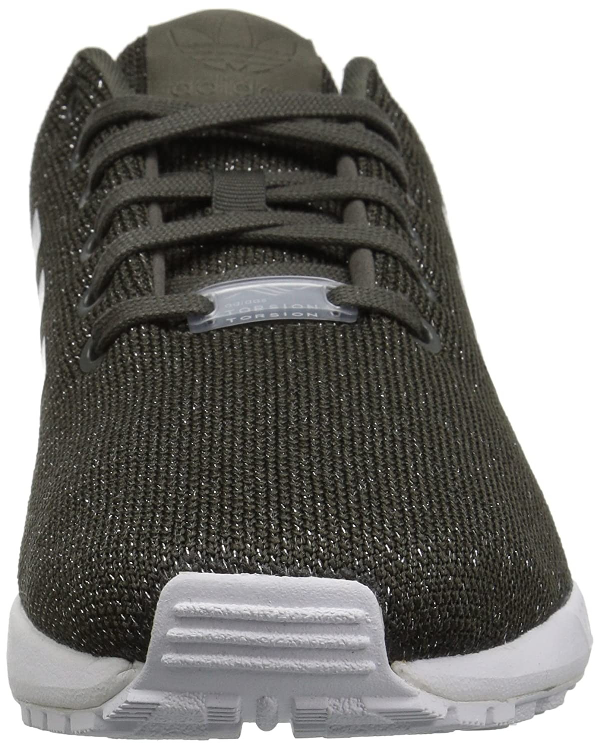 6502777b2 adidas Originals Women s ZX Flux W Running Shoe Sneaker Grey Utility Black Silver  Metallic