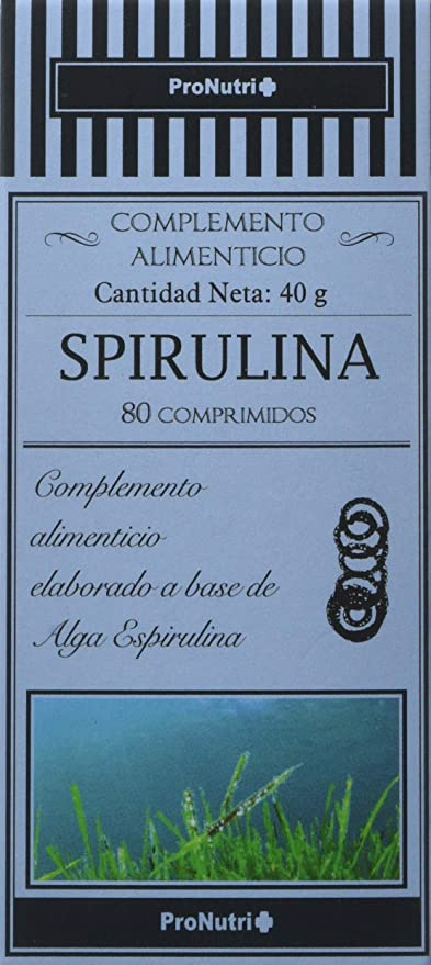 PRONUTRI - PRONUTRI Spirulina 80 comprimidos