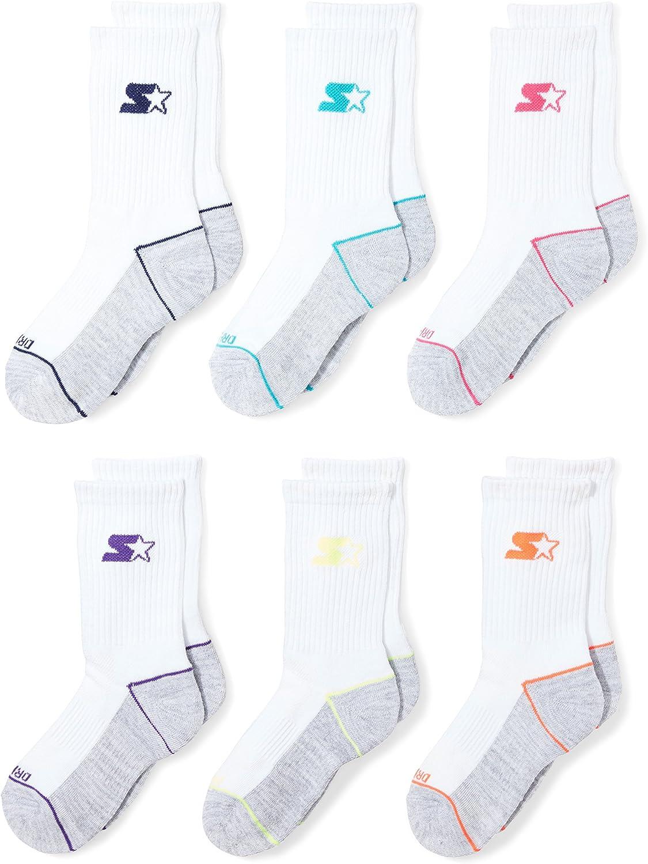 Starter Boys 6-Pack Athletic Crew Socks Exclusive