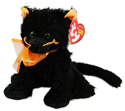 2bba8ee320a Image Unavailable. Image not available for. Color  Ty Beanie Babies  Moonlight - Black Cat