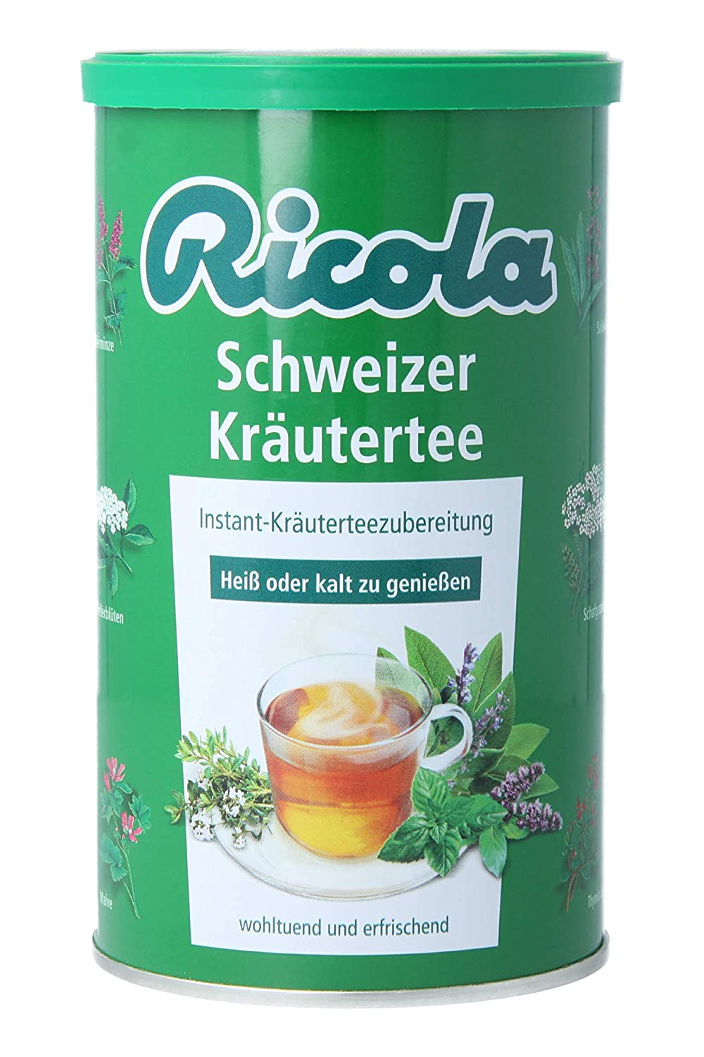 Ricola Instant Herbal Tea, 200g can