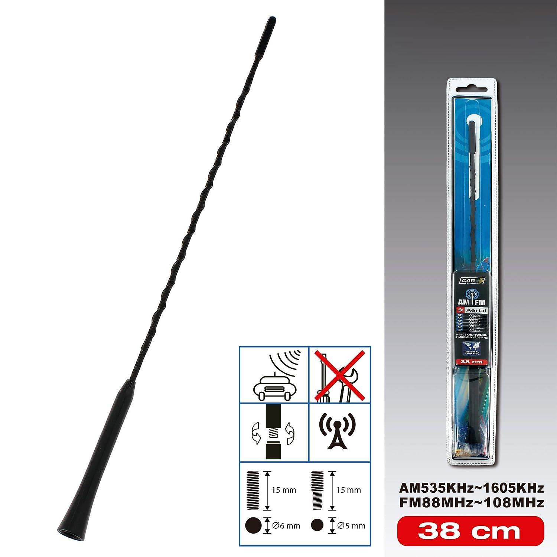 SUMEX TME3001 Antena para Coche Am//FM 30cm