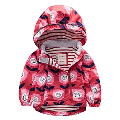 a3056d15b Amazon.com  Meanbear Boys   Girls Hooded Cotton Lined Jacket ...