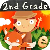 Animal Second Grade Math Games for Kids with Skills: The Best 1st, 2nd and 3rd Grade Numbers, Counting, Addition and Subtraction Activity Games for Boys and Girls