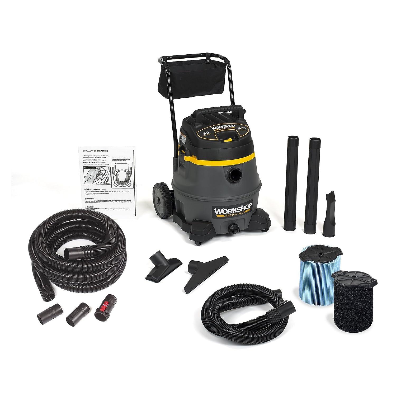 WORKSHOP Wet Dry Vac WS1400CA High Power Wet Dry Vacuum Cleaner, 14-Gallon Shop Vacuum Cleaner, 6.0 Peak HP Wet And Dry Vacuum Emerson Tool Company