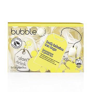 Amazon.com: Bubble T bolsas de té para infusión de baño ...