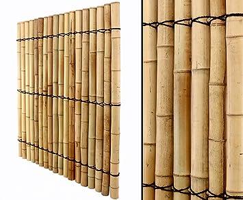 Bambuswand Mit Dicken Rohren 150x120cm Online Bestellen
