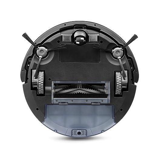 ECOVACS Robotics DEEBOT 605 - El Robot Aspirador que también Friega, Limpieza Sistemática, Control Mediante APP y Poder de Succión MÁX, Blanco: Amazon.es: ...