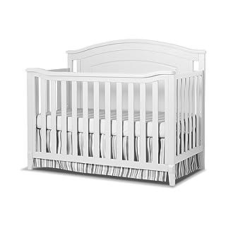 Sorelle Glendale 4-in-1 Convertible Crib, White