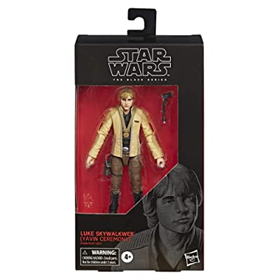 """Star Wars The Black Series Luke Skywalker (Yavin Ceremony) Toy 6"""" Scale A New Hope Collectible Figure, Kids Ages 4 & Up: Toys & Games"""
